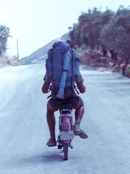 Europe by Train - Moped