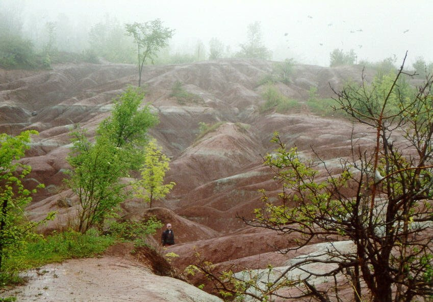 The Badlands of Ontario
