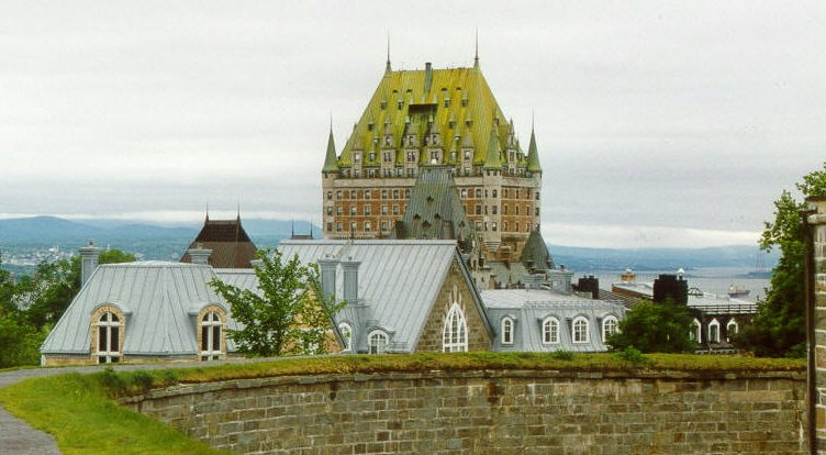 The amazing Chateau Frontenac