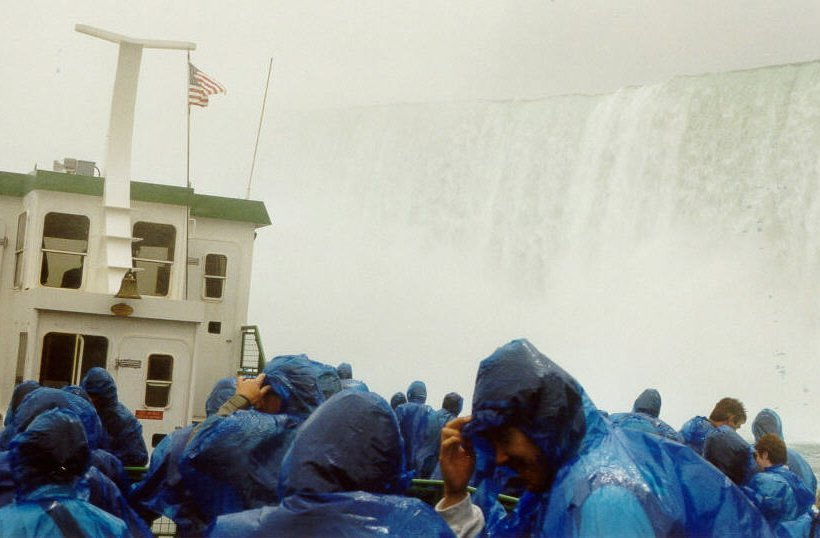 The Horseshoe Falls at Niagara, from the Maid of the Mist IV
