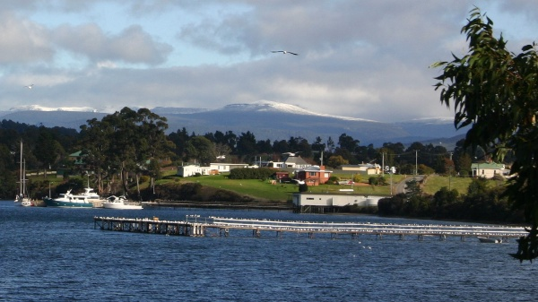 The d'Entrecasteaux Channel near Hastings