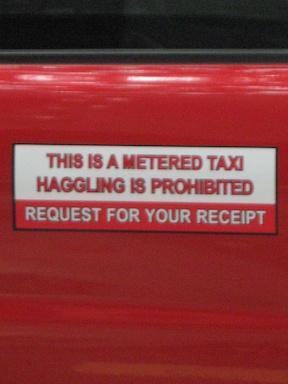 Kuala Lumpur meter taxi