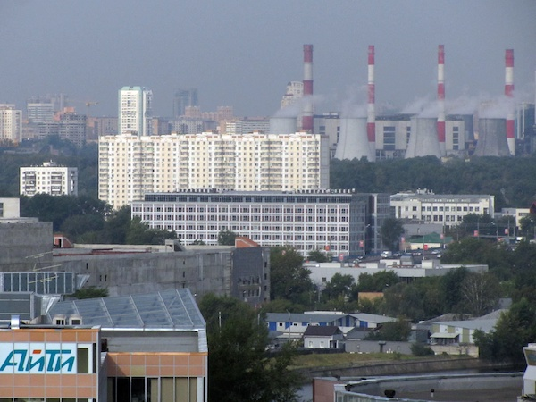 The chimneys of Moscow
