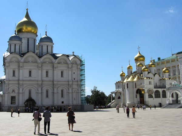 More cathedrals than you can shake a stick at, inside the Kremlin