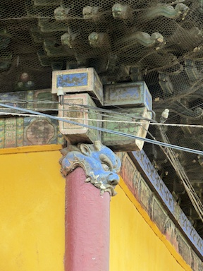 Post detail at Gandantegchinlen Monastery