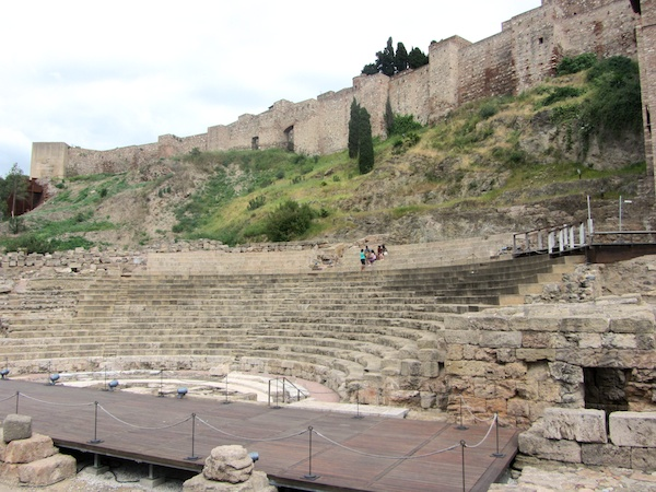 Roman amphitheatre below the Alcazabar