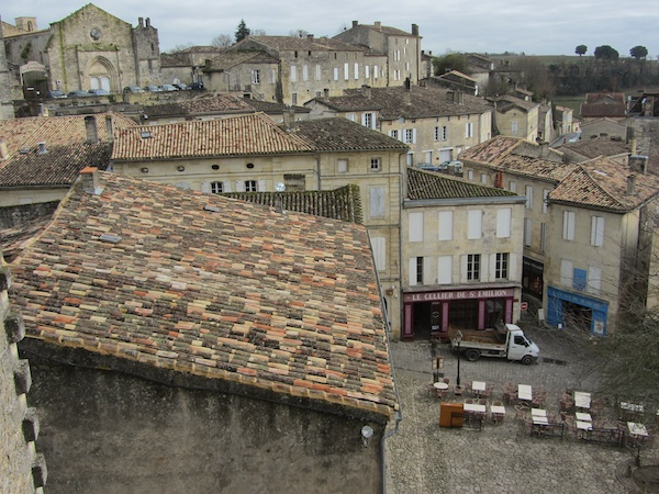 St Emilion from the clock tower