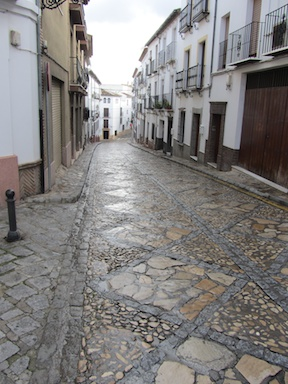 The town is a warren of steep cobbled streets