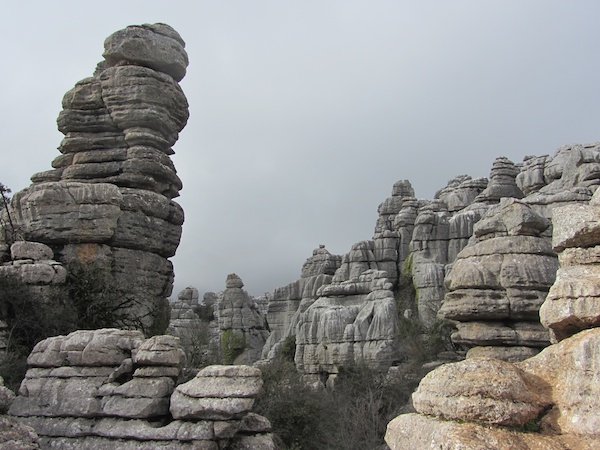 views into El Torcal