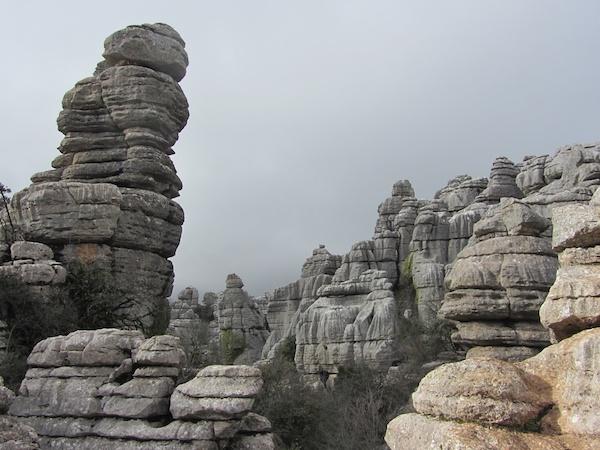 views into El Torcal
