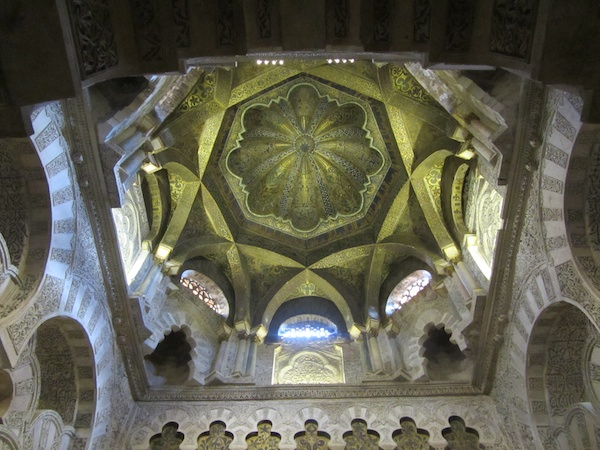 Ceiling of the mihrab