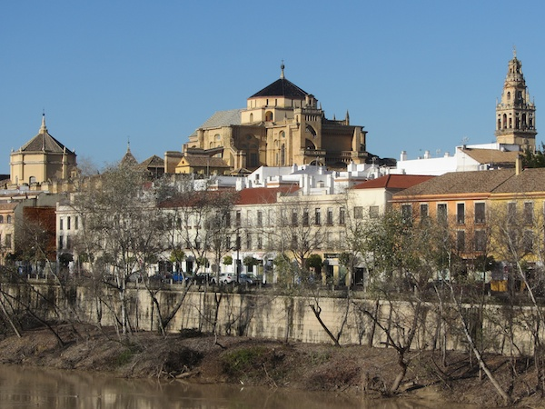 The Mezquita from the Puente de Miraflores in Cordoba