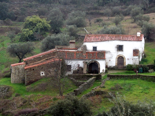 The finca in Extremadura