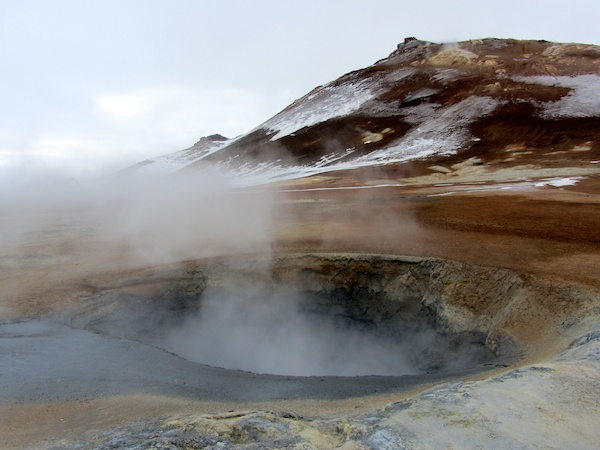 Mud pot at Námafjall