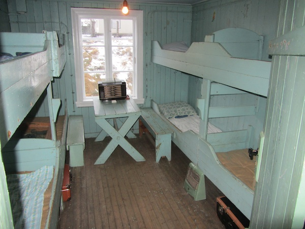 Bunks for the herring girls