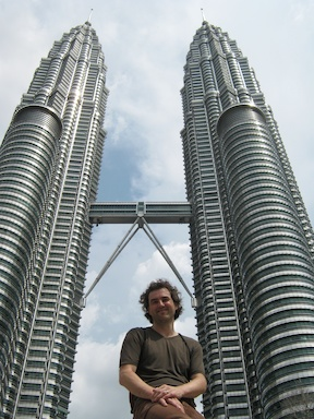 Under the Petronas Towers