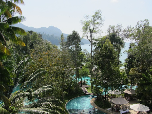 The Andaman is truly a rain forest hotel