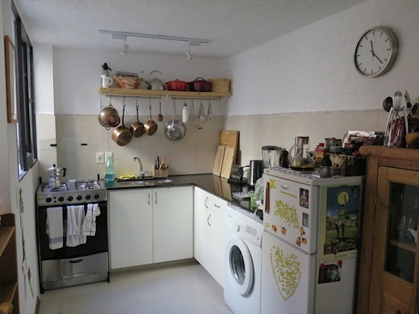 We did a deal with one tenant to fit kitchen cupboards