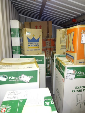 Boxes... boxes... endless boxes...