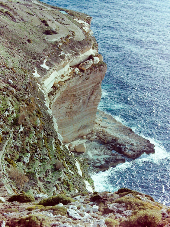 Dingli Cliffs: as high as the topography gets