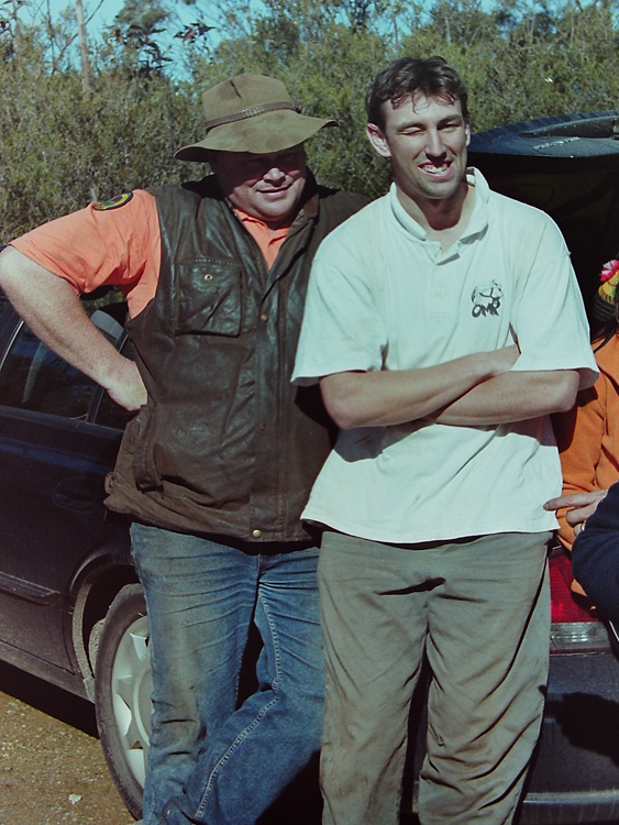 Rangers Matt and Ewan