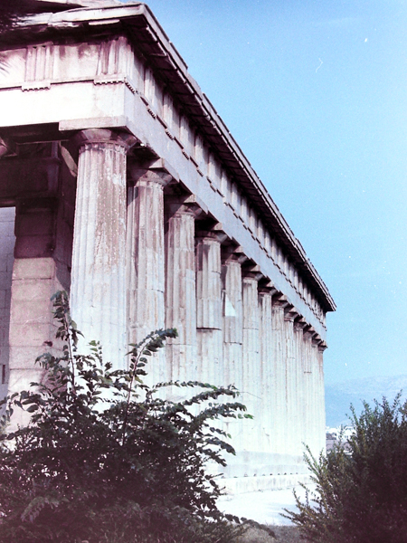 Europe by Train - Temple of Hephaestus