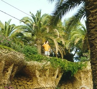 Exploring the Park Guell