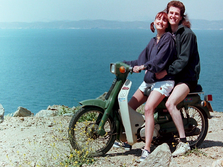 `Biking on the cliff tops