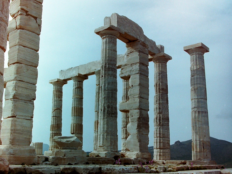 The temple at Sounion