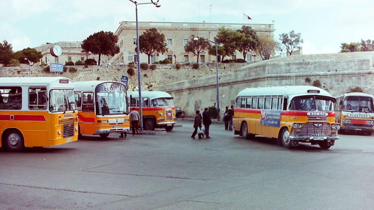 Some examples of the astounding Maltese bus fleet