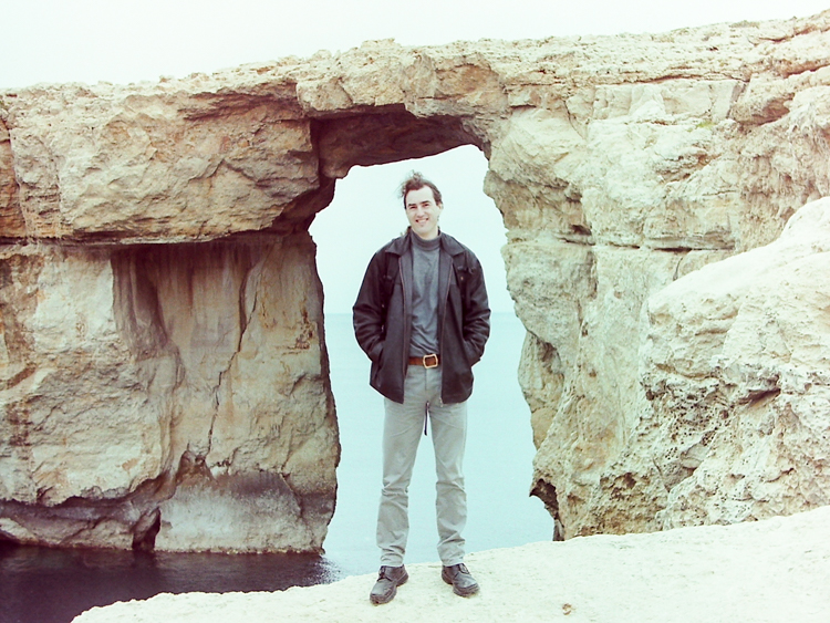 Framed by the Azure Window
