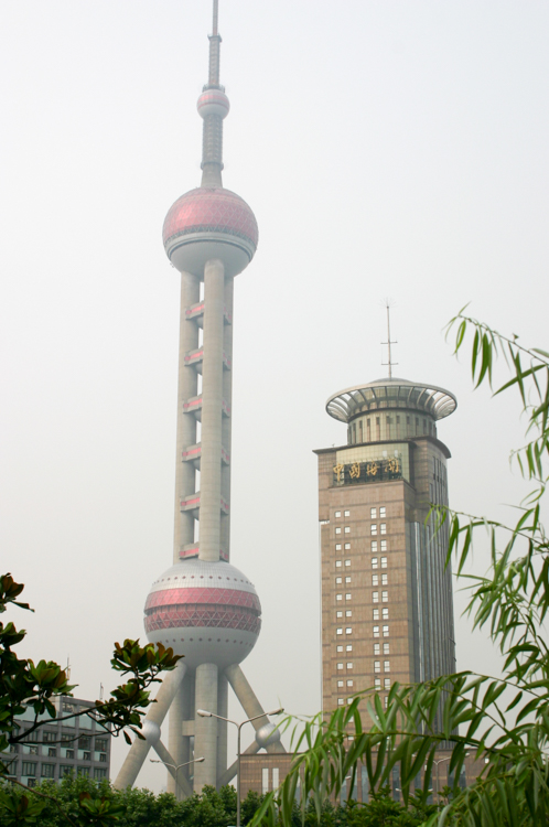 The towers of Pudong