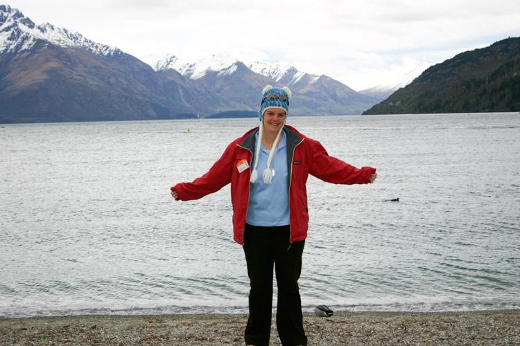 Lake Wakatipu. Aint it grand?